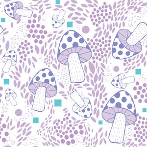 Lavender Mushroom